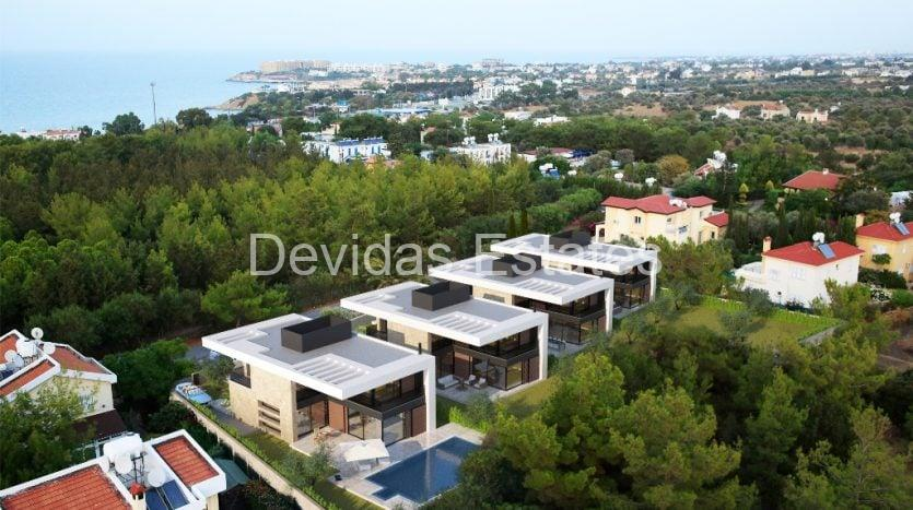 For Sale: Elite 4+1 detached villa in Edremit in an exclusive developmet
